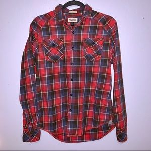 [Hilfiger Denim] Flannel Plaid Shirt - Size Medium